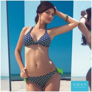 Amour de pois triangle swimbra with removable padding