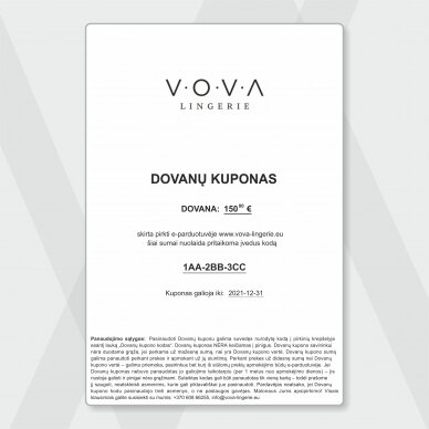 DĀVANU KUPONS - 150€