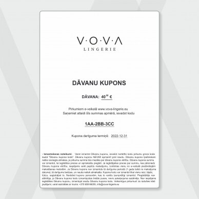 DĀVANU KUPONS - 40€ 2