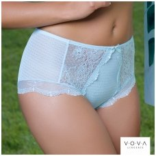 """Blue sky"" high-waist briefs"