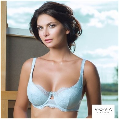 """Blue sky"" push-up bra 2"