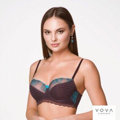 Butterfly half-padded bra 2