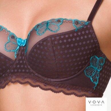 Butterfly half-padded bra 4