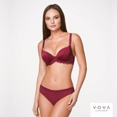 Purcell molded push-up bra