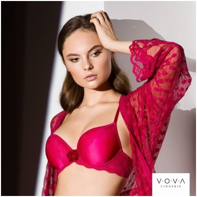 """""""Rose Party"""" spacer push-up bra 2"""