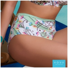 """Flower Waves"" foldable swim briefs"