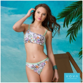 """Flower Waves"" balcony swimbra"