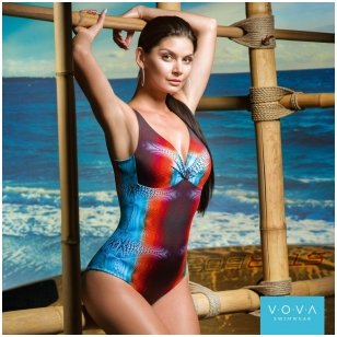 """Dolfeina"" one-piece swimsuit"