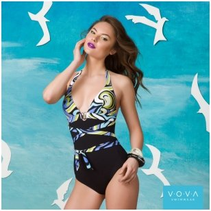 """Sea Breeze"" one-piece swimsuit"