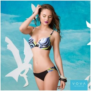 """Sea Breeze"" swimbra - molded push-up"