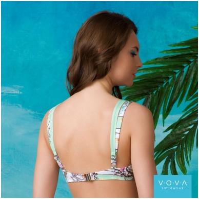 "Ujumisriided rinnahoidja ""Flower Waves"" bra for the big sizes 3"