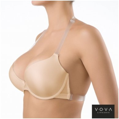 """Victorija"" molded push-up bra 2"