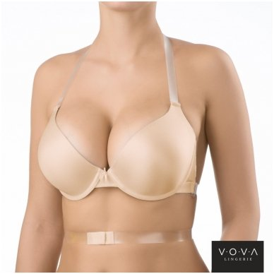 """Victorija"" molded push-up bra 3"